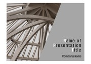 PPT양식 템플릿 배경 - 현대건축물13