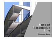 PPT양식 템플릿 배경 - 현대건축물17