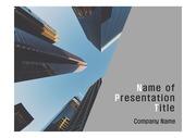 PPT양식 템플릿 배경 - 현대건축물14