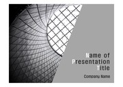 PPT양식 템플릿 배경 - 현대건축물12