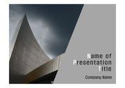 PPT양식 템플릿 배경 - 현대건축물21
