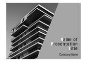 PPT양식 템플릿 배경 - 현대건축물19