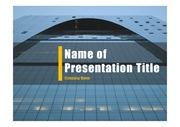 PPT양식 템플릿 배경 - 현대건축물26