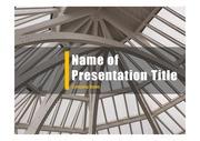 PPT양식 템플릿 배경 - 현대건축물23