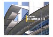 PPT양식 템플릿 배경 - 현대건축물28