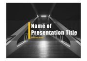 PPT양식 템플릿 배경 - 현대건축물30