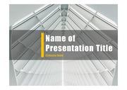 PPT양식 템플릿 배경 - 현대건축물34
