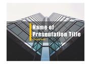 PPT양식 템플릿 배경 - 현대건축물38