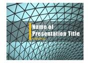 PPT양식 템플릿 배경 - 현대건축물39