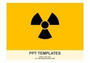 방사능 심플 PPT 템플릿