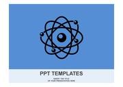 원자 모형 PPT 템플릿