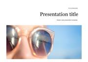 자외선PPT 선글라스PPT 햇빛 자외선 피부건강 선글라스 PPT템플릿