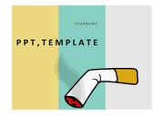PPT템플릿 담배, 금연PPT