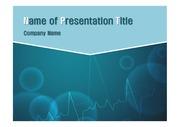 의학 테마 PPT- 심장박동