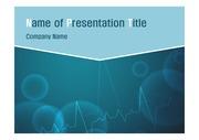 의학 테마 PPT- 심장박동2
