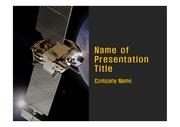 과학 테마 PPT - 우주, 인공위성