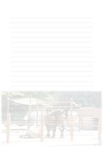 속지, 편지지, 노트, 연습장 ver6