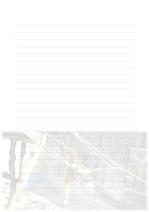 속지, 편지지, 노트, 연습장 ver4