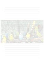 속지, 편지지, 노트, 연습장 ver9