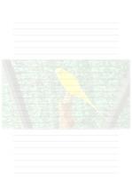 속지, 편지지, 노트, 연습장 ver16
