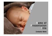 건강테마 PPT - 수면, 잠, 아기1