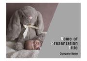건강테마 PPT - 수면, 잠, 아기2