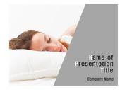 건강테마 PPT - 수면, 수면장애, 잠2