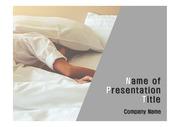 건강테마 PPT - 수면, 수면장애, 잠7