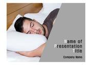 건강테마 PPT - 수면, 수면장애, 잠5