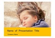 건강테마 PPT - 수면, 잠, 어린이5
