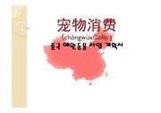 중국 애완동물 사업 계획서