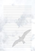 줄노트 편지지, 노트, 연습장, 레포트 속지, 속지 v2018081313