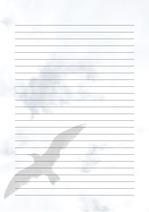 줄노트 편지지, 노트, 연습장, 레포트 속지, 속지 v2018081315