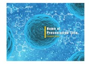 PPT양식 템플릿 배경 - 바이러스, 감염1