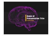 PPT양식 템플릿 배경 - 뇌1