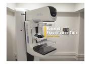 PPT양식 템플릿 배경 - 의료, 가슴 검사