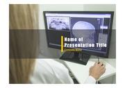 PPT양식 템플릿 배경 - 의료, 엑스레이사진1