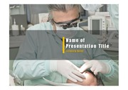 PPT양식 템플릿 배경 - 의료, 치과2