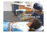 PPT양식 템플릿 배경 - 의료, 치과1