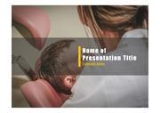 PPT양식 템플릿 배경 - 의료, 치과3