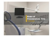 PPT양식 템플릿 배경 - 의료, 치과4
