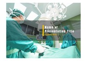 PPT양식 템플릿 배경 - 의료, 외과3