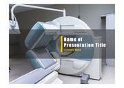 PPT양식 템플릿 배경 - 의료, MRI