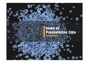 PPT양식 템플릿 배경 - 바이러스, 감염5