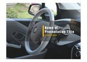 PPT양식 템플릿 배경 - 전기 자동차2