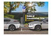 PPT양식 템플릿 배경 - 전기 자동차4