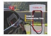 PPT양식 템플릿 배경 - 전기 자동차9