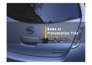 PPT양식 템플릿 배경 - 전기 자동차7