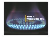 PPT양식 템플릿 배경 - 안전관리, 가스