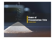 PPT양식 템플릿 배경 - 건강관리, 설탕6